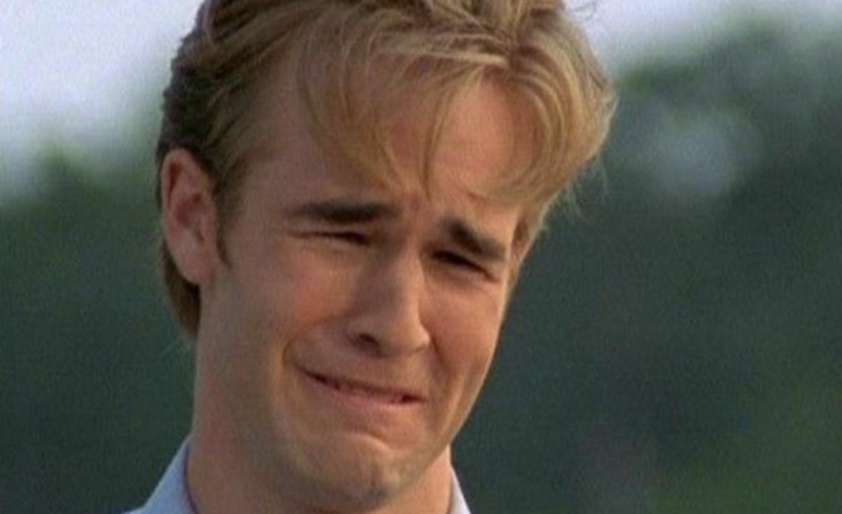 dawson ugly crying face