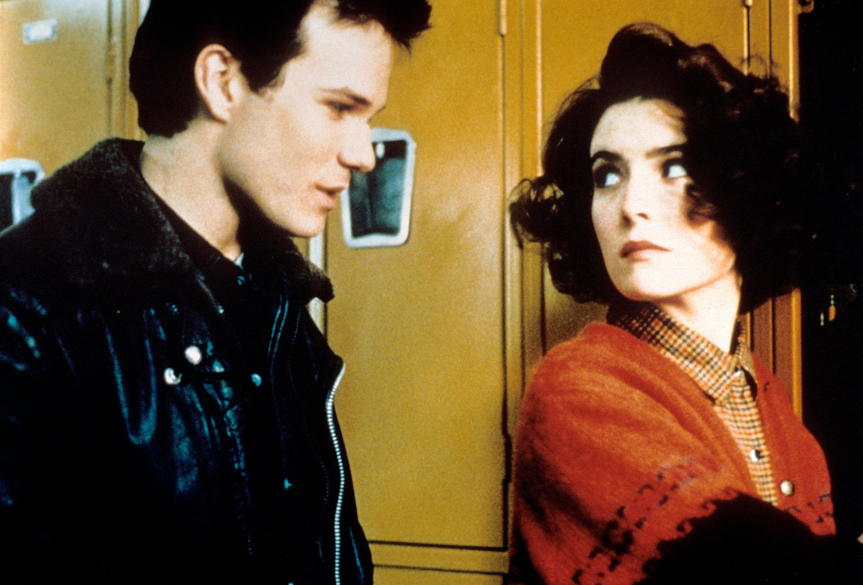 James Marshall and Lara Flynn Boyle