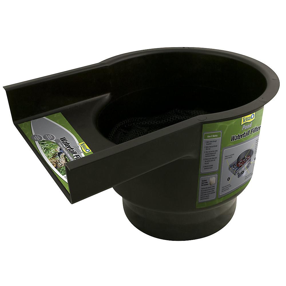 The black plastic filter