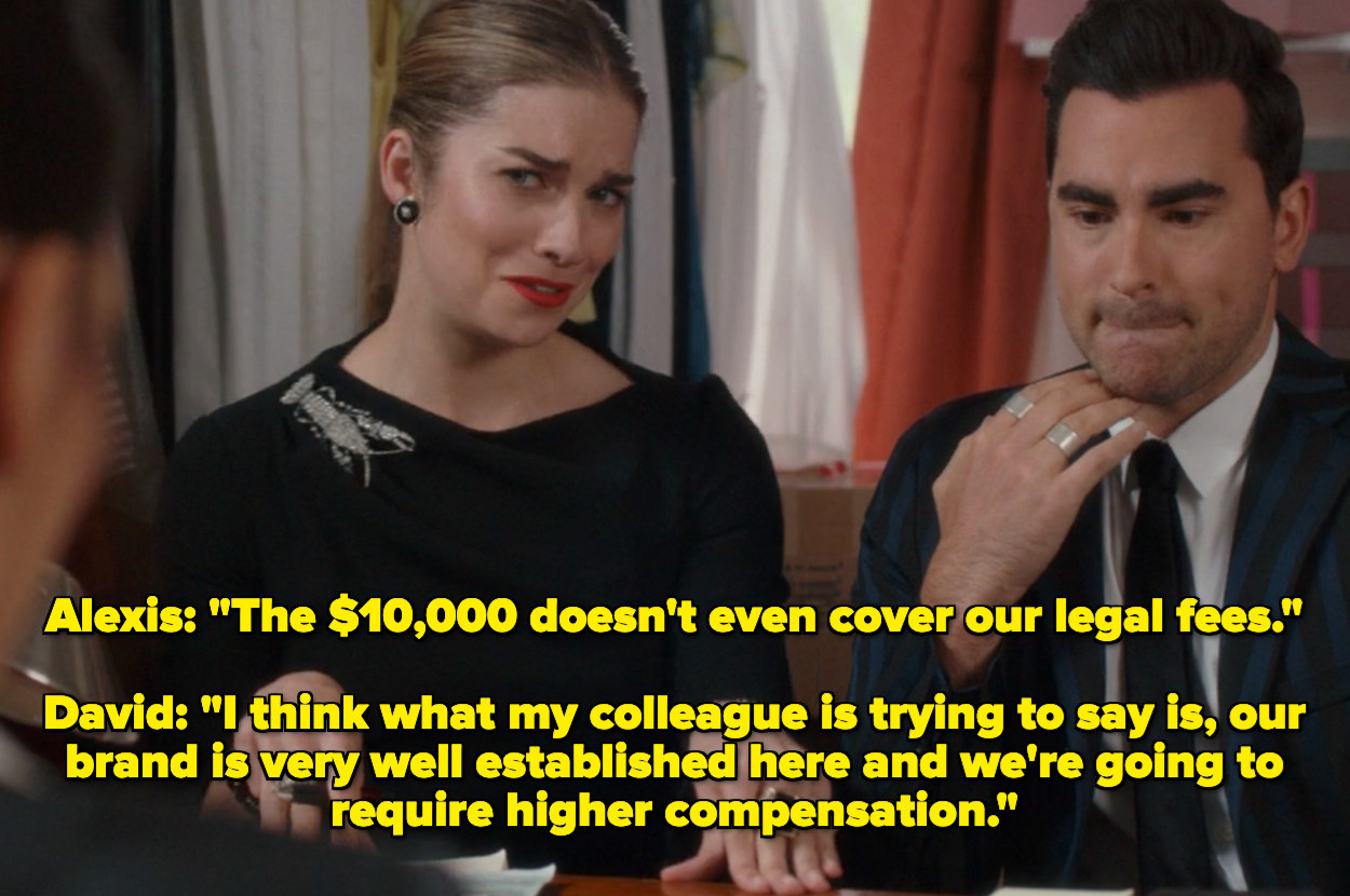 Alexis and David asking for more than $10,000