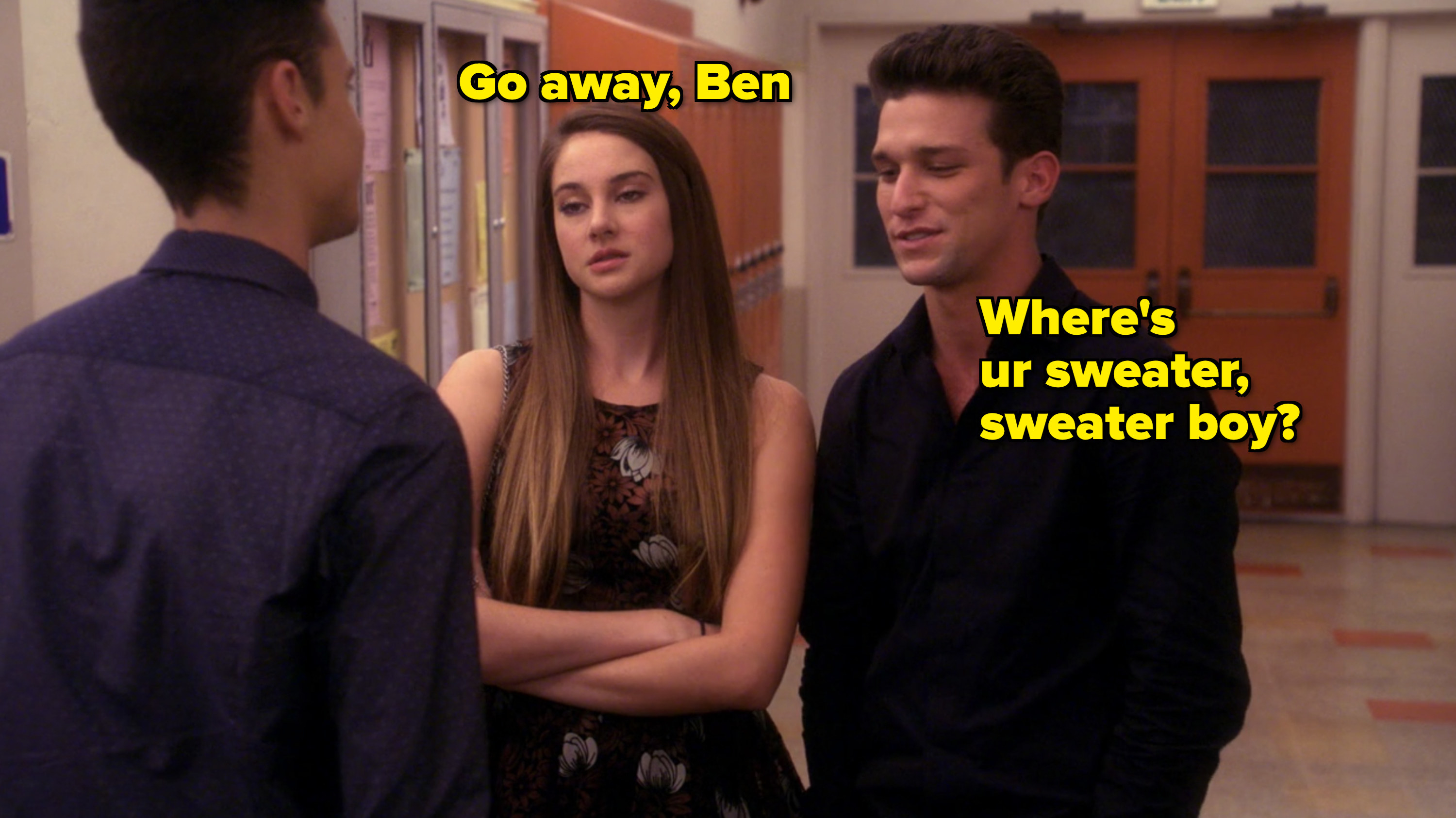 ben confronting ricky and amy