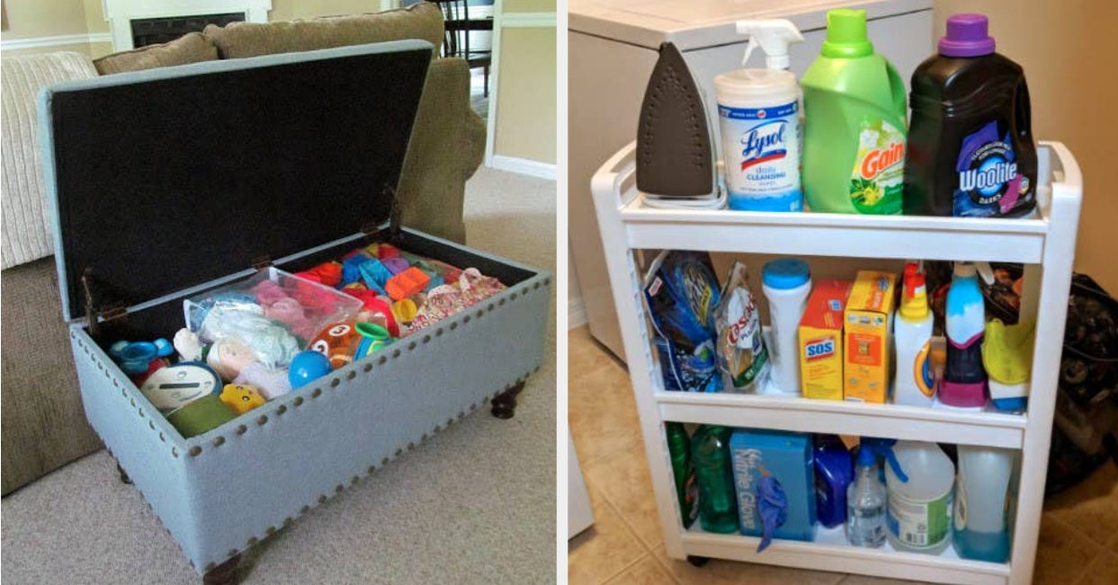49 Ridiculously Clever Ways To Store Basically Anything And Everything