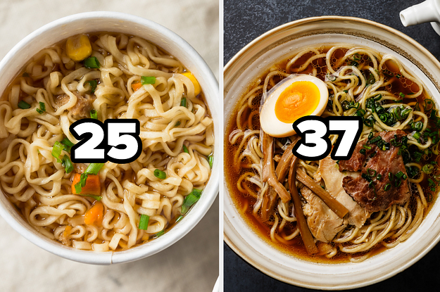 I Know It Sounds Strange, But I Promise I Can Guess Your Age With 98.2% Accuracy Based On The Simple Or Fancy Foods You Pick