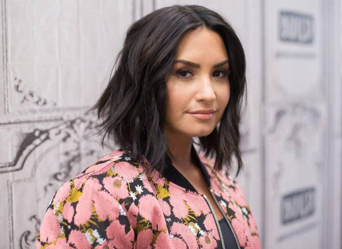 "Demi Lovato attends Build Series to discuss ""Smurfs: The Lost Village"""