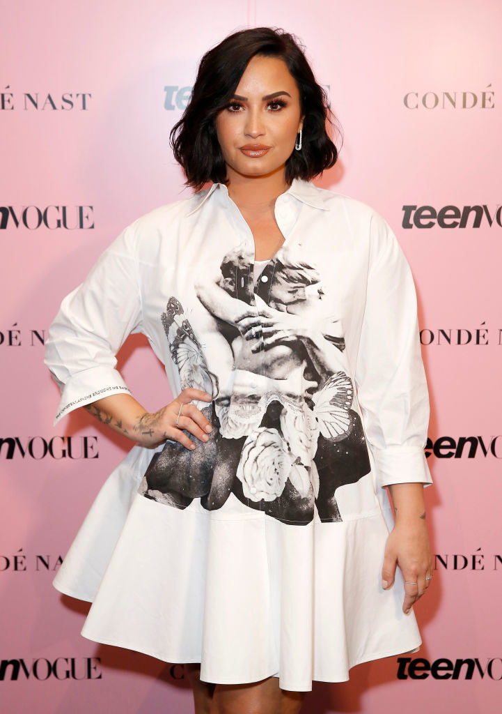 Demi Lovato attends the Teen Vogue Summit 2019