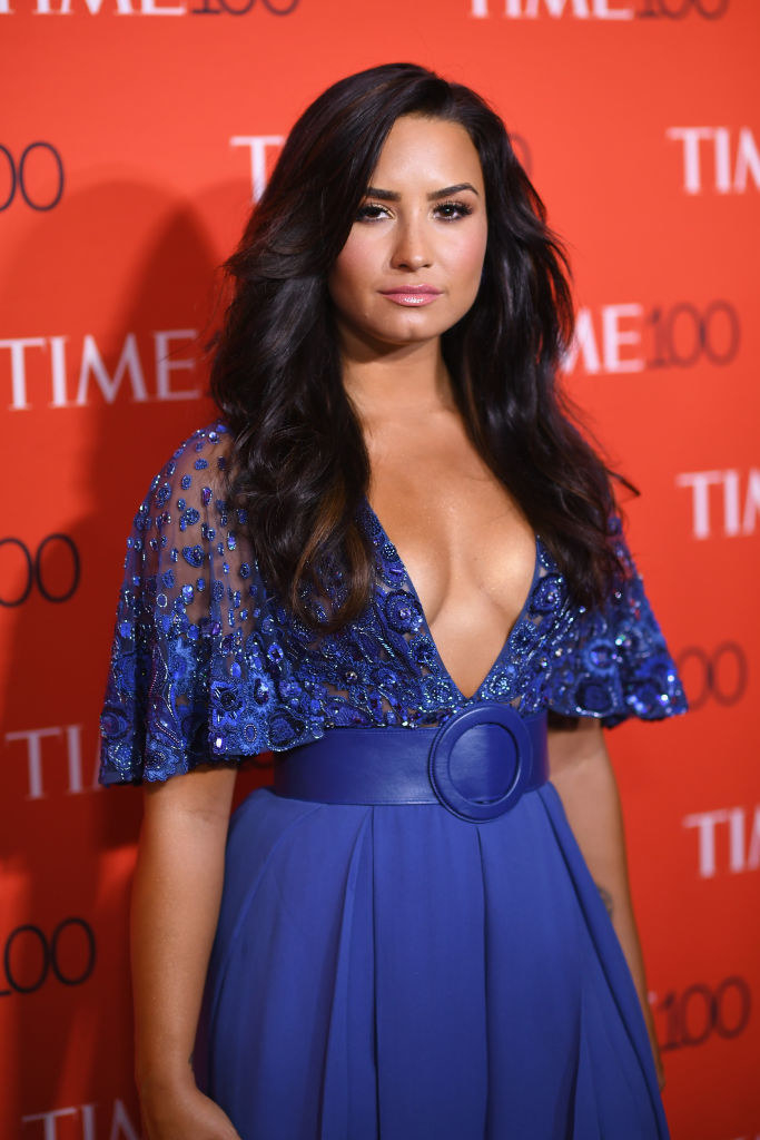 Demi Lovato attends the 2017 Time 100 Gala at Jazz