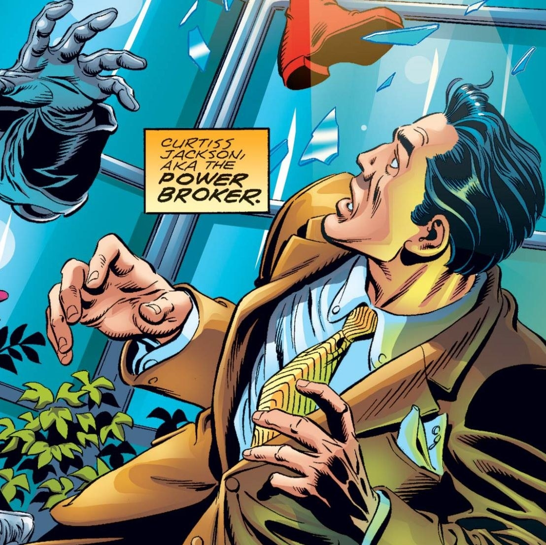 The Power Broker in the comics