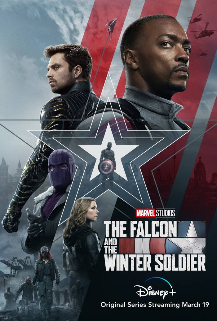 The Falcon and The Winter Soldier Disney+ Poster