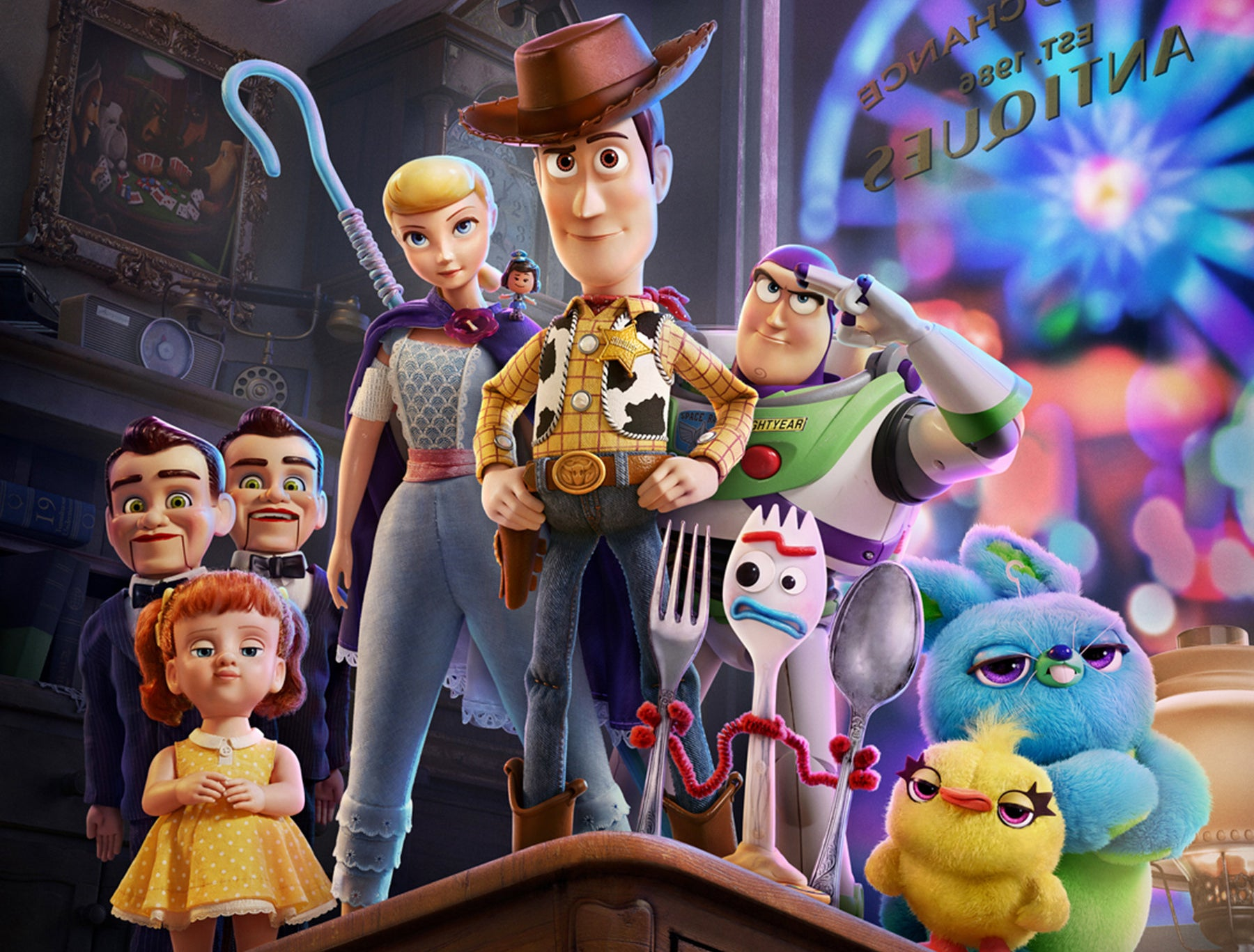 Publicity photo of Toy Story 4 cast