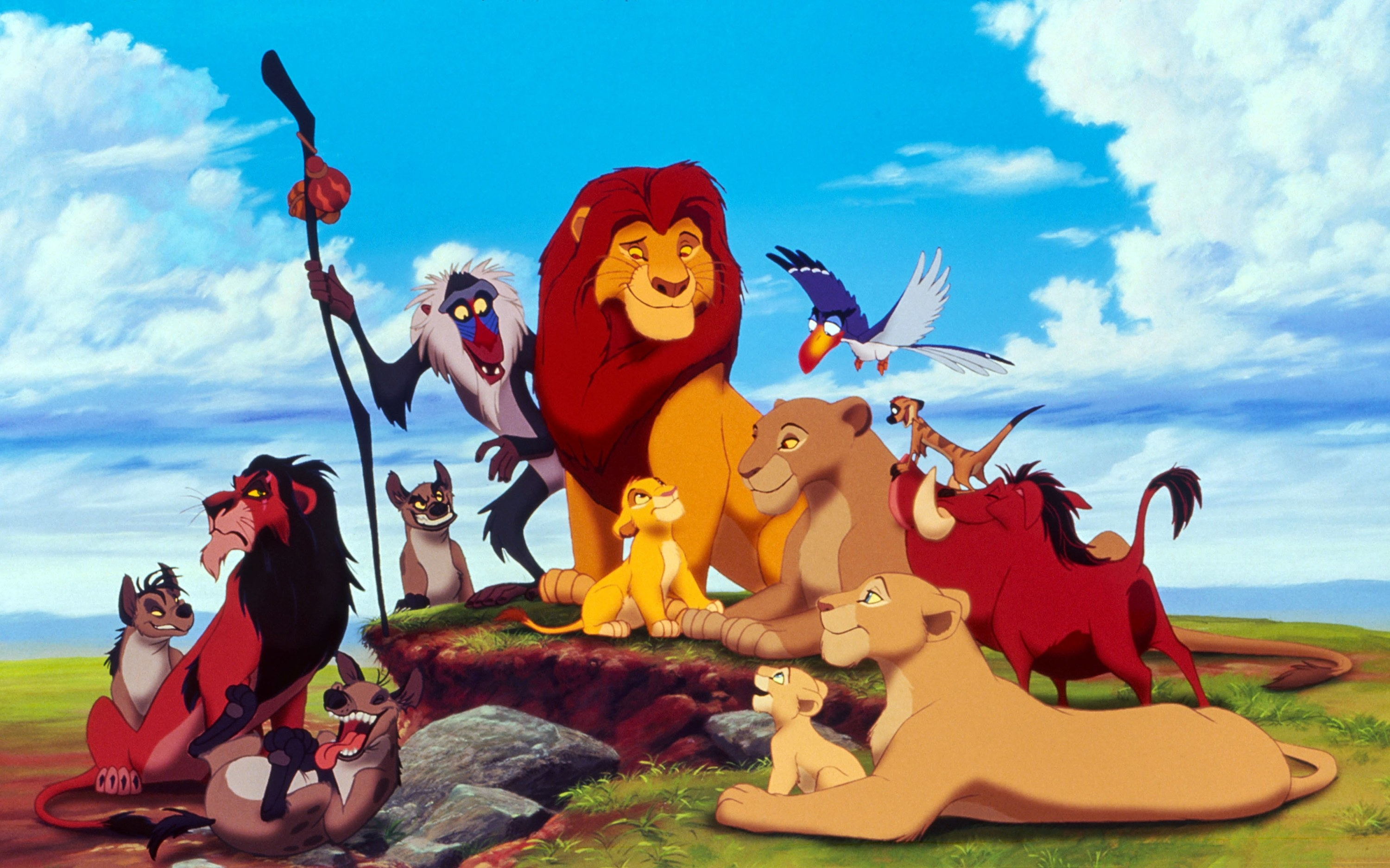 Publicity photo for the Lion King