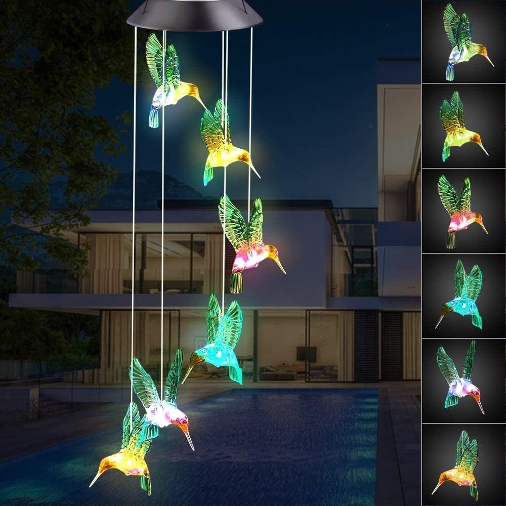 the hummingbird wind chime