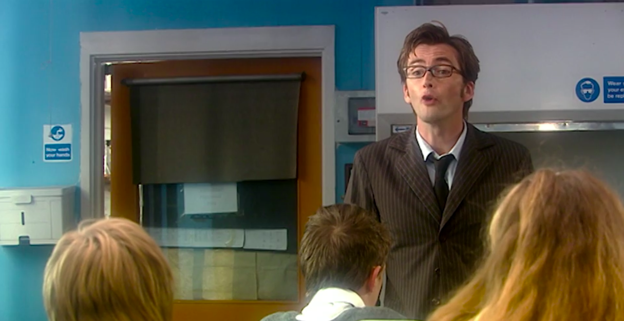 """The Tenth Doctor from """"Doctor Who"""""""