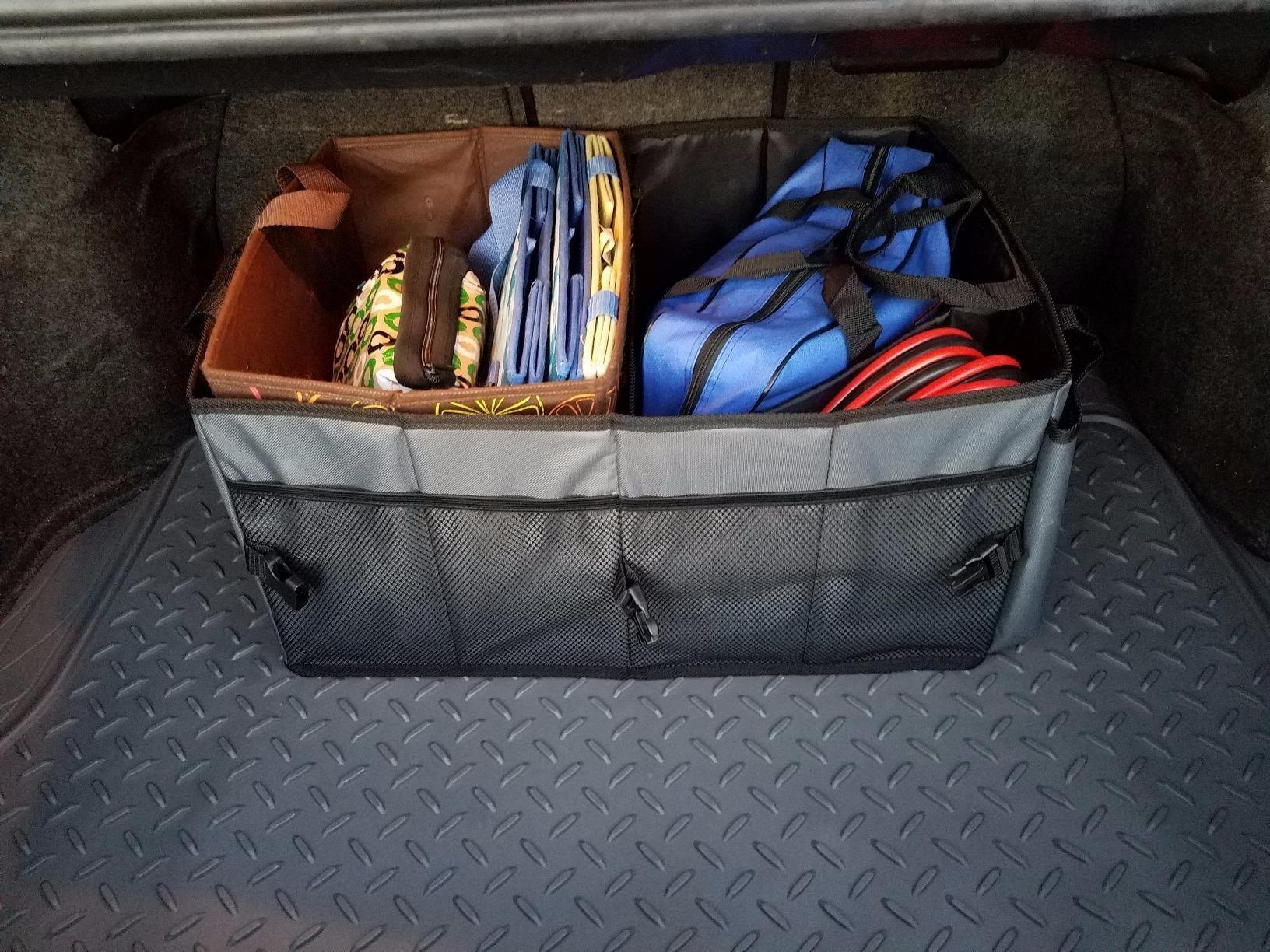 the full organizer in a trunk