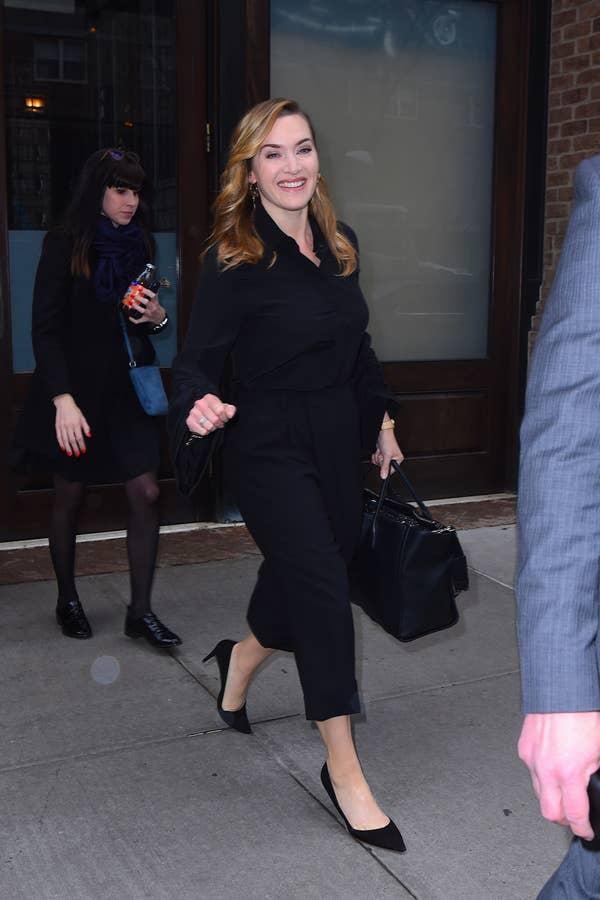 Winslet di New York City pada 2018