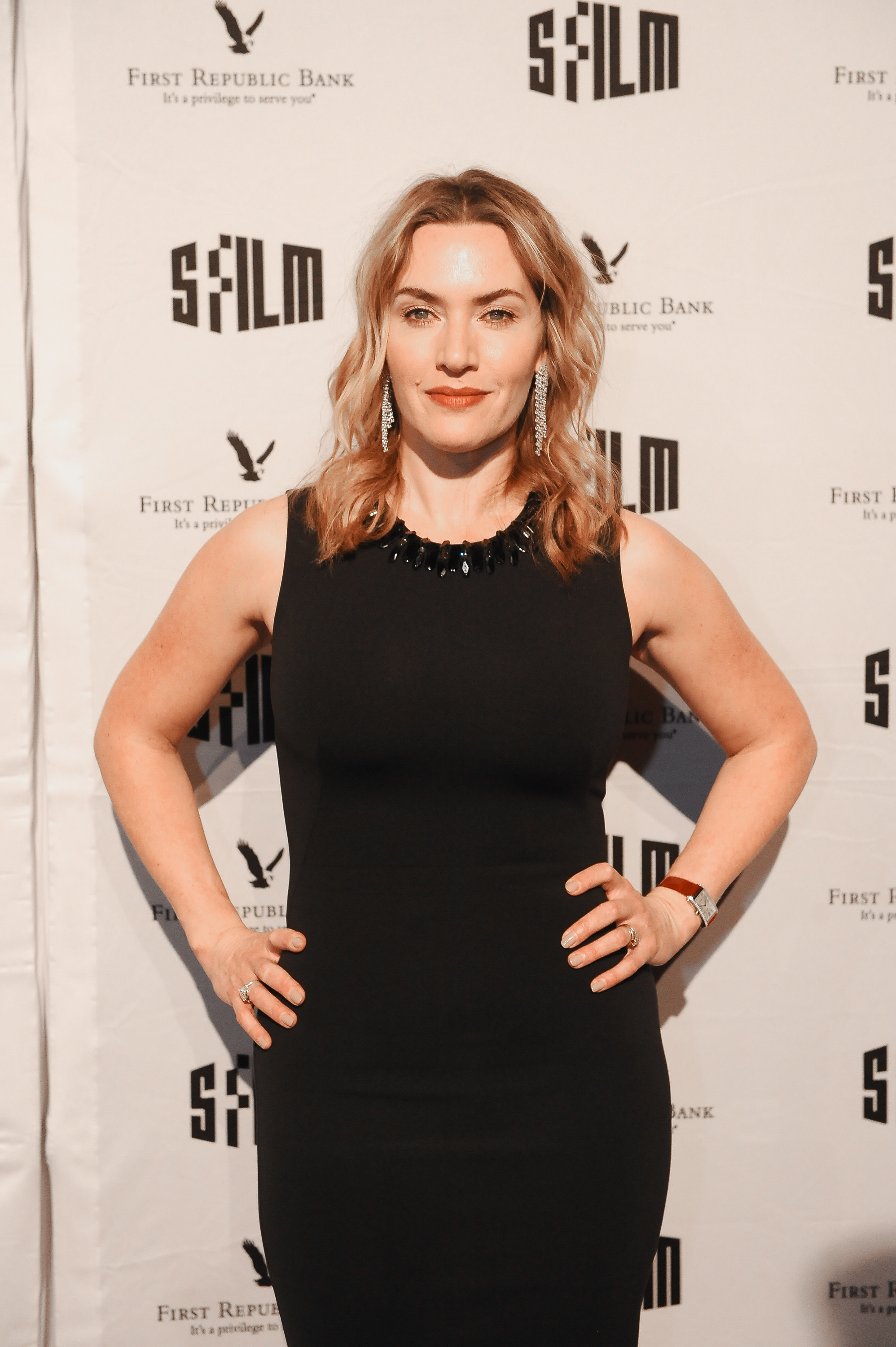 Winslet at the Palace of Fine Arts Theatre in 2017