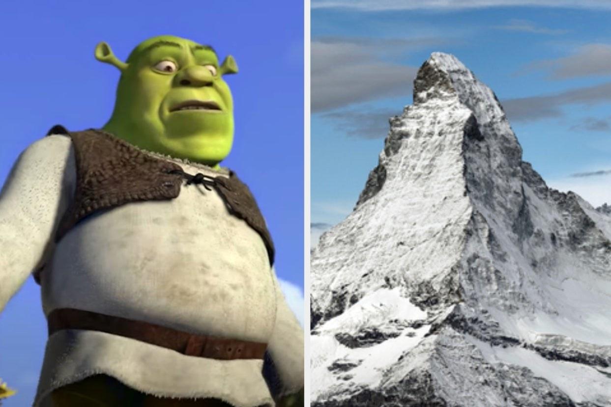 Shrek and Matterhorn