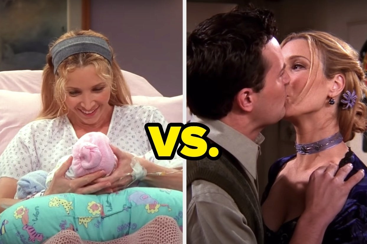 """Friends"" episode ""The One Hundreth"" versus ""Friends"" episode ""The One Where Everybody Finds Out"""
