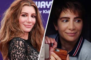 Nasim Pedrad on the red carpet and in Chad