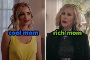 格鲁吉亚是一个很酷的妈妈;莫里拉玫瑰是一个富有的妈妈