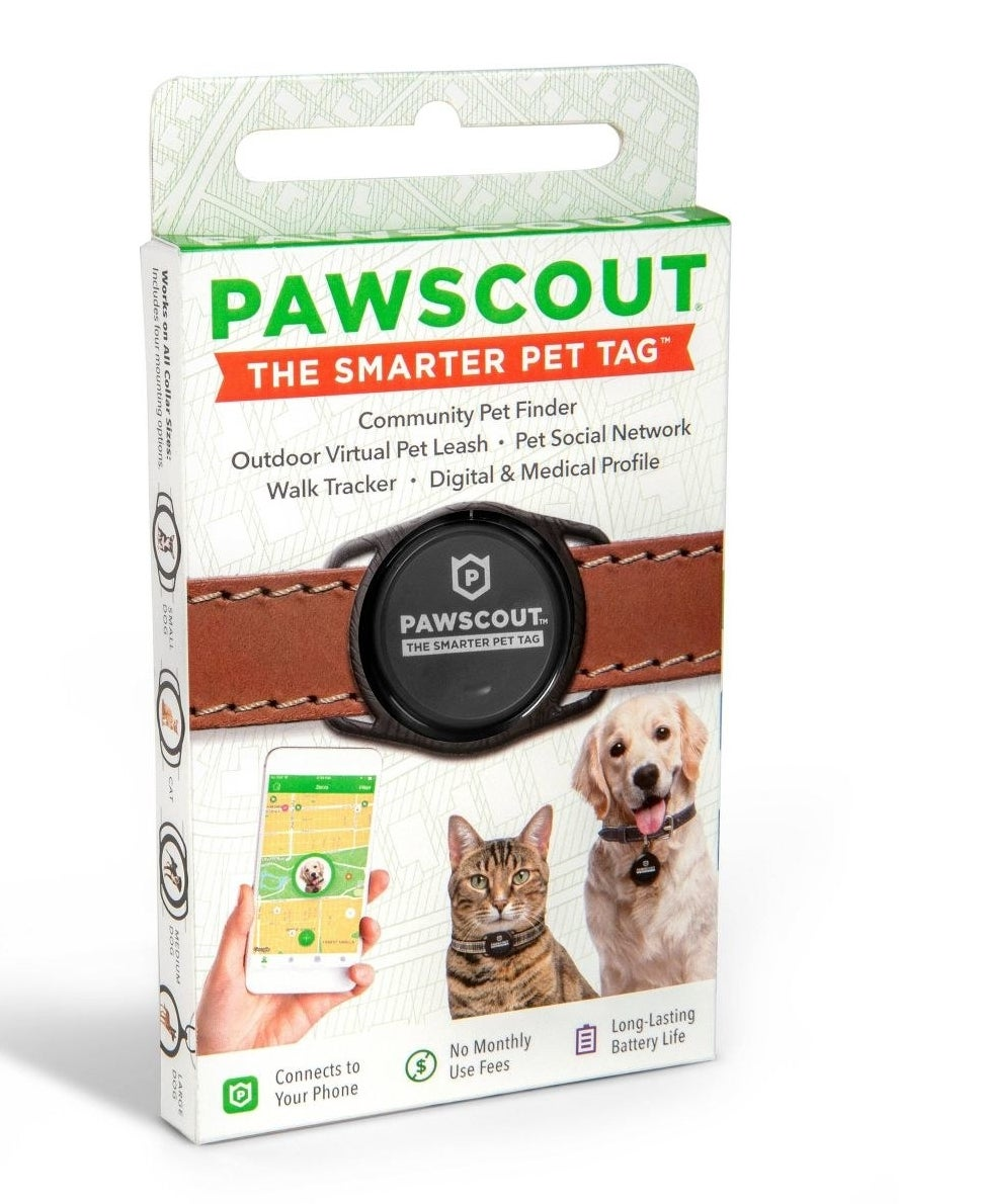 The smart pet electronic tracking tag