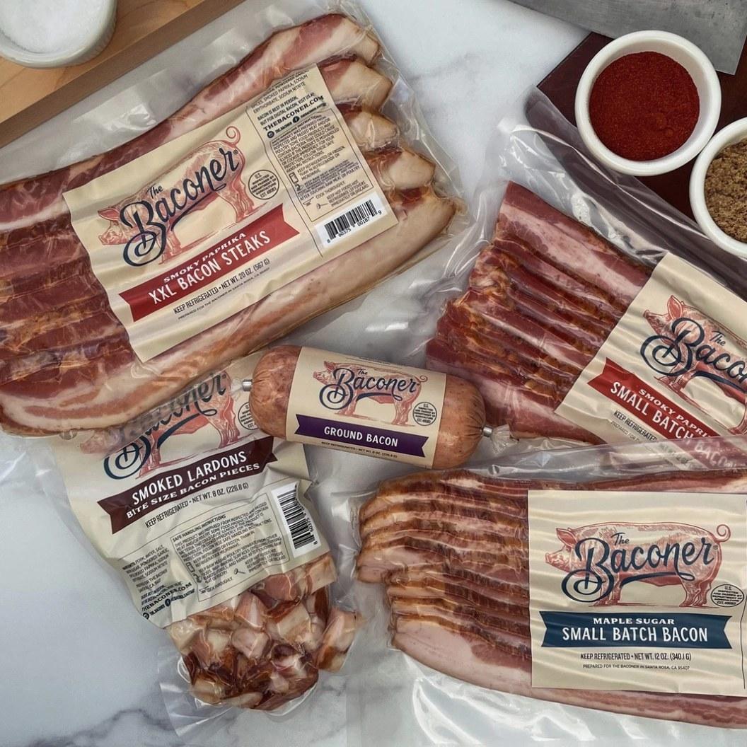 Bacon 5-piece set.