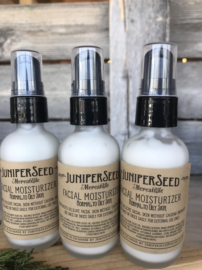bottles of the moisturizer