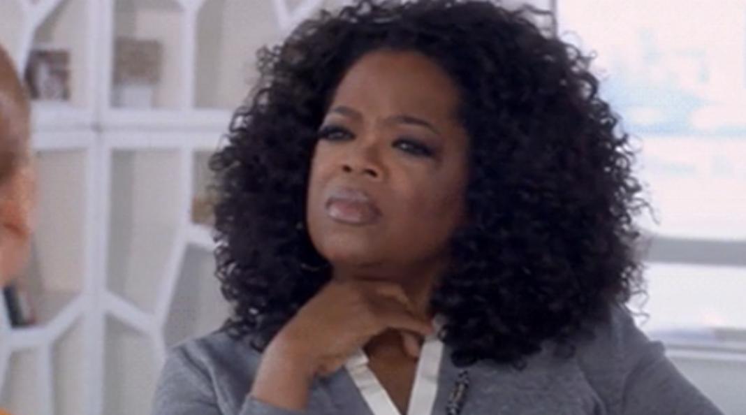 Oprah looking pensive