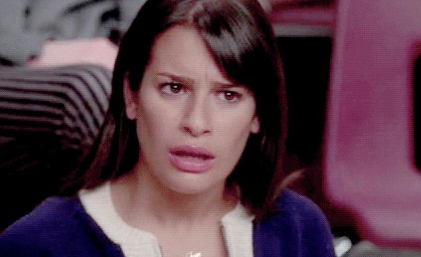 Shocked Rachel Berry