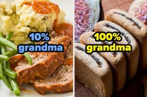 肉饼是10%奶奶,无花果牛顿是100%奶奶