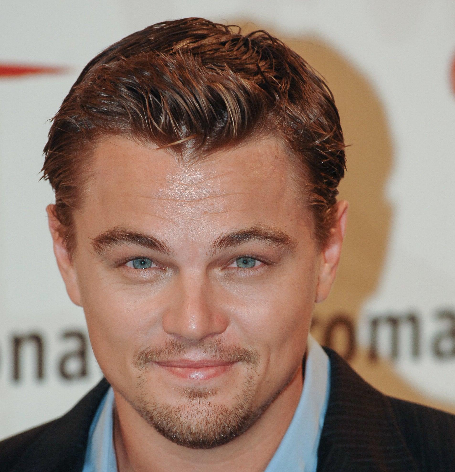 Close up photo of Leonardo DiCaprio