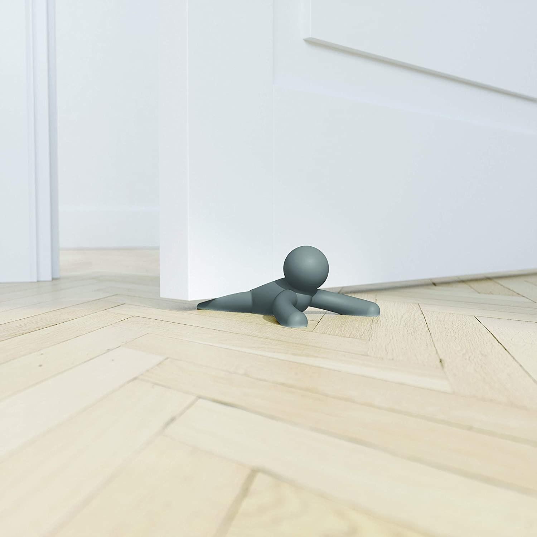 the doorstop under a door