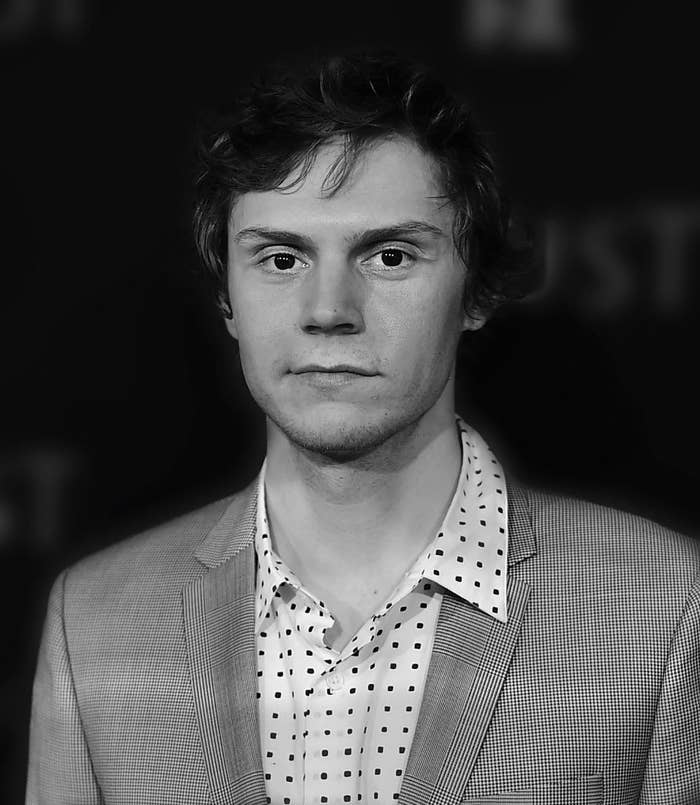 Evan Peters soft smiling