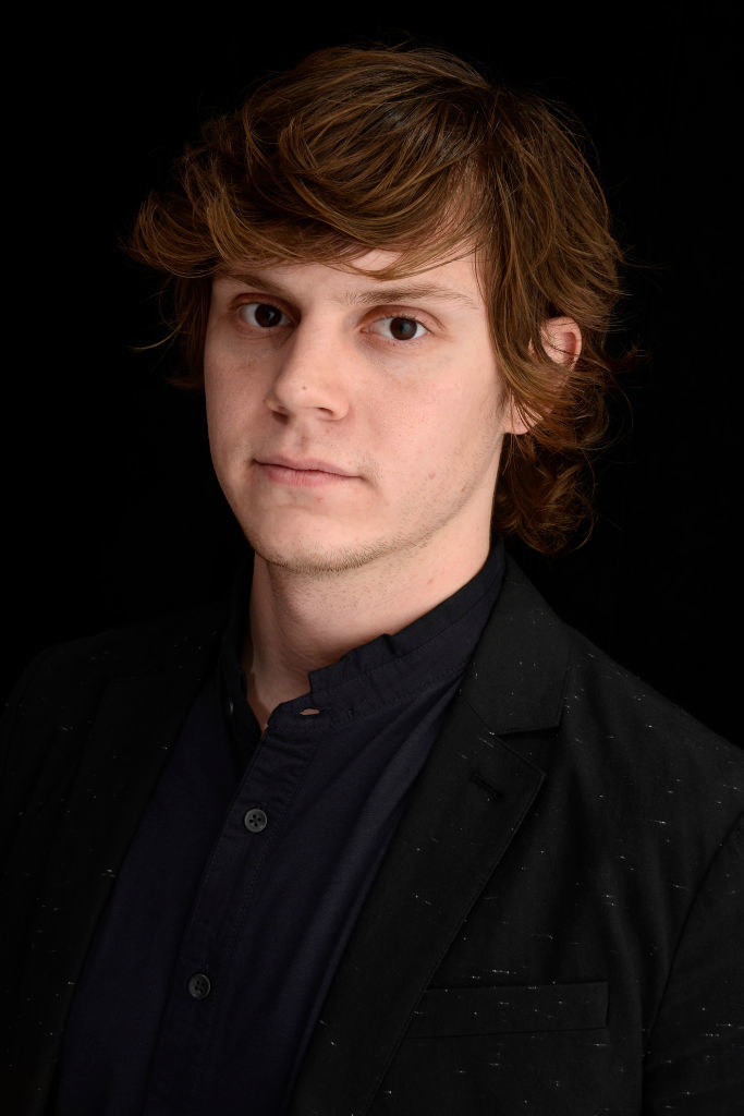 Evan Peters smoldering