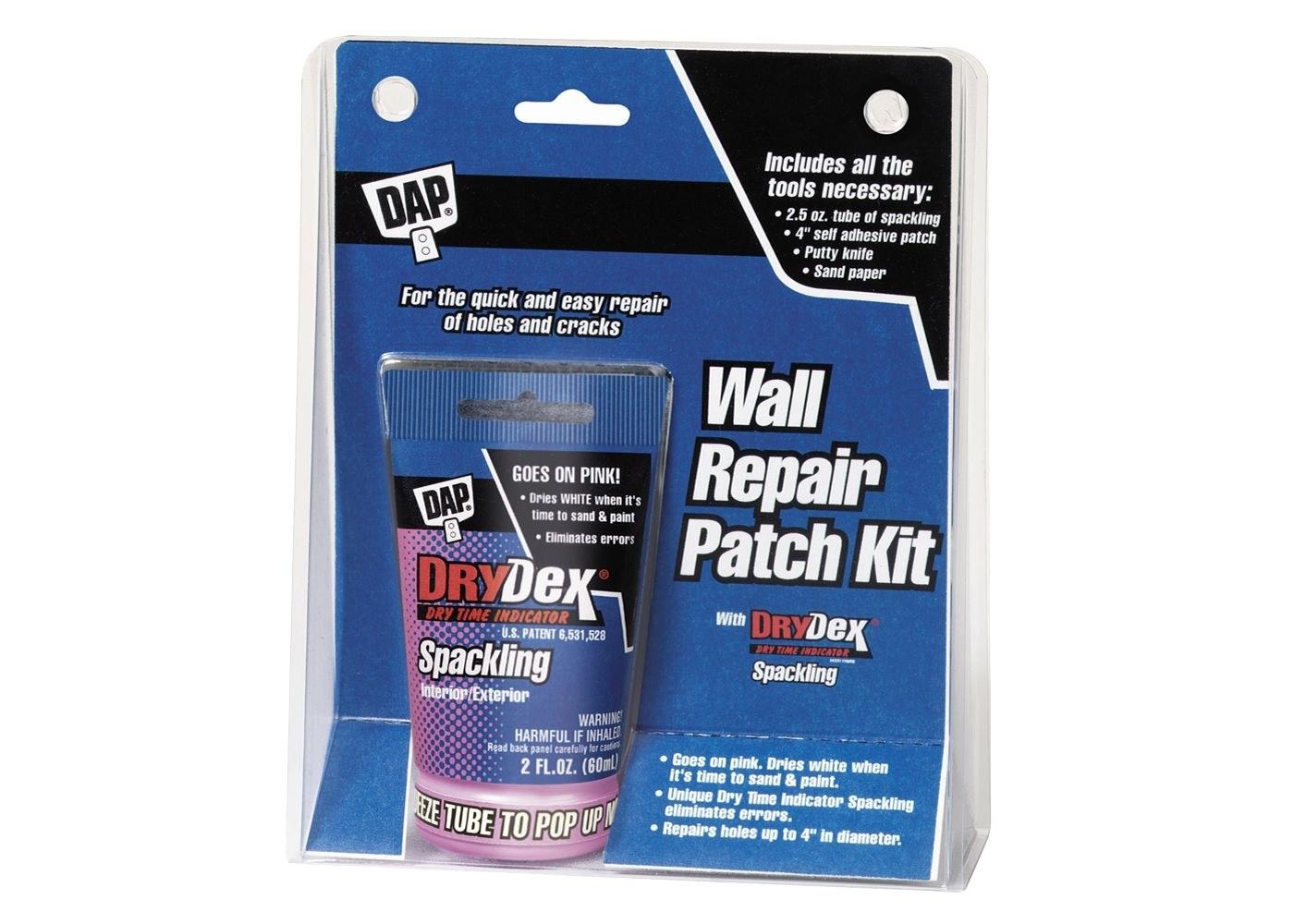 the DAP wall repair patch kit