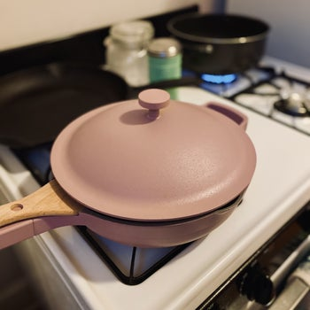 the pan in lavender
