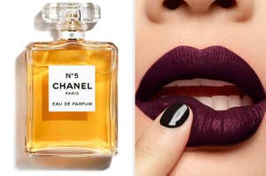 Chanel perfume / an YSL lip stain