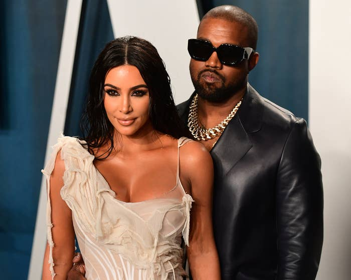 Kim and Kanye attend an event together