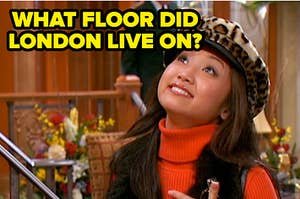 What floor did London Tipton live on?