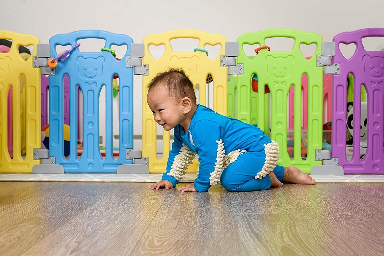 kid in mop onesie