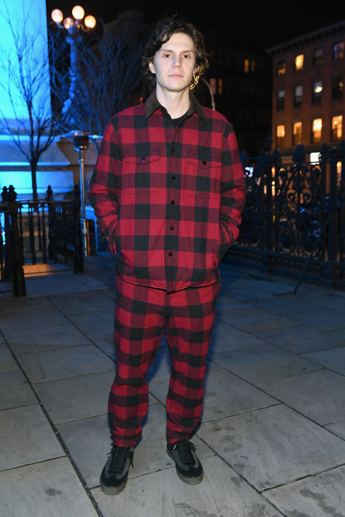 Evan Peters attends rag & bone's A Last Supper