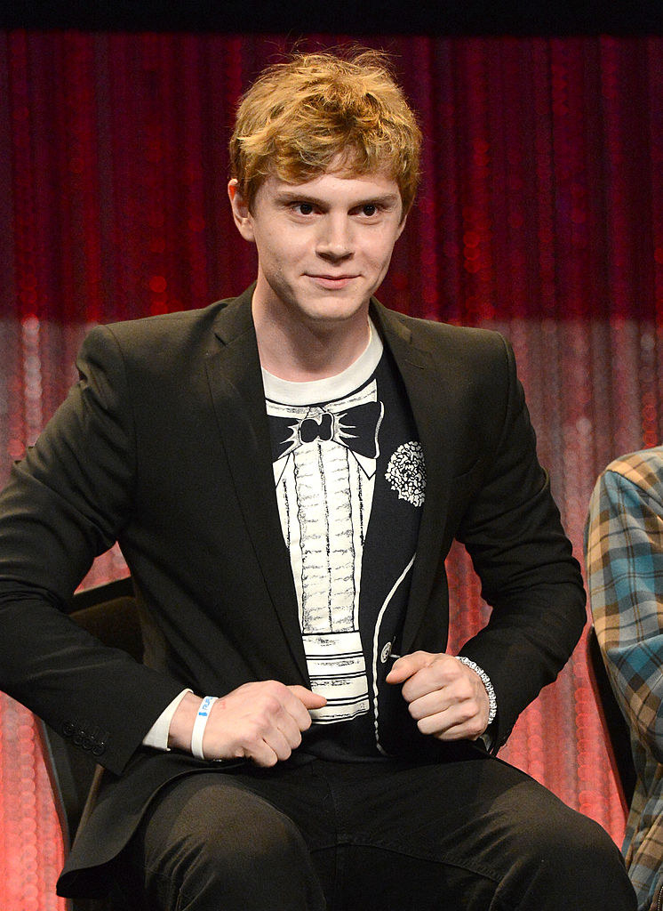 Evan Peters attends the 2014 PaleyFest - Closing Night Presentation.