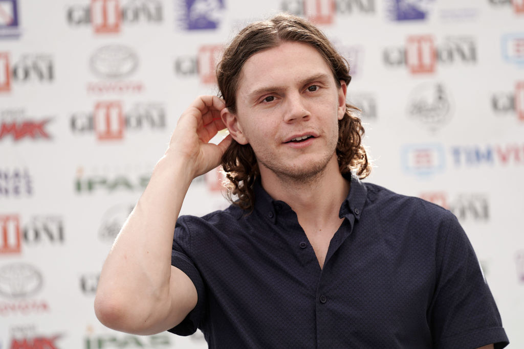 Evan Peters attends Giffoni Film Festival 2019