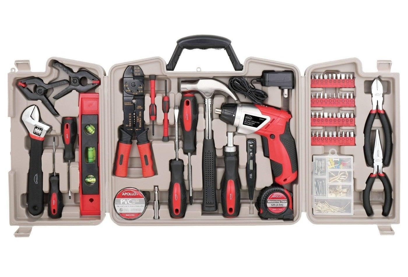 the apollo tools 161 piece set