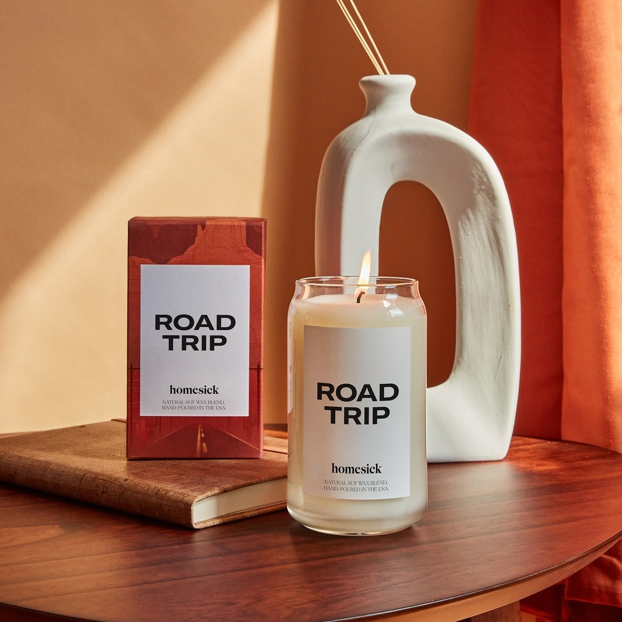 the road trip candle