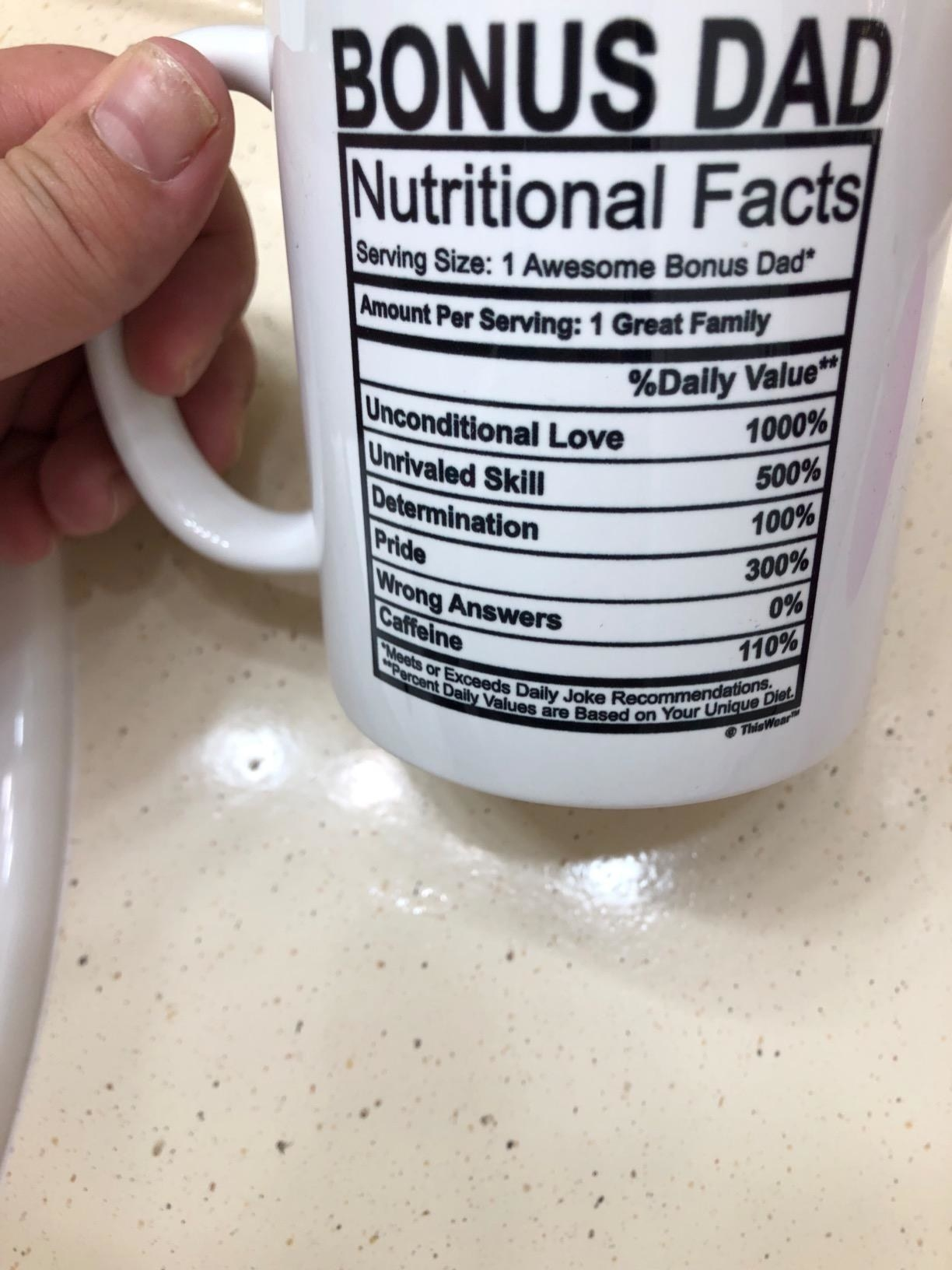 a reviewer photo of the mug