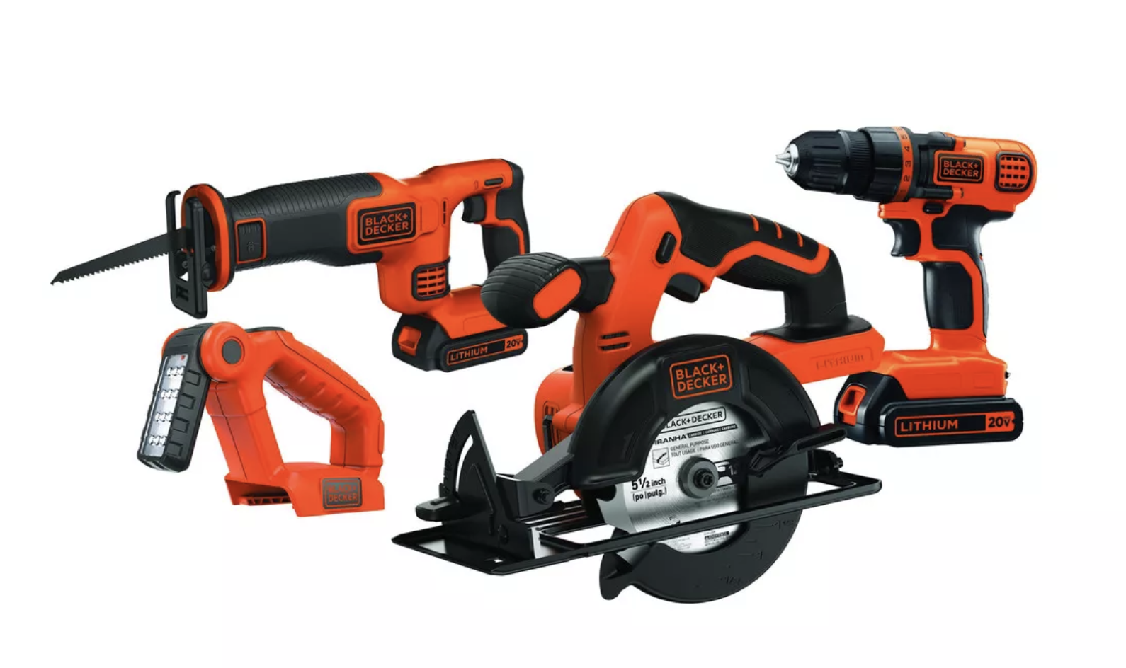 the complete black and decker cordless tool combo kit