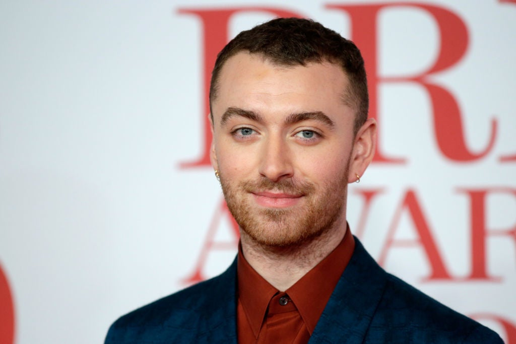 Sam Smith's New Tattoo Pays Tribute To Their Nonbinary Identity, And I'm So Here For It