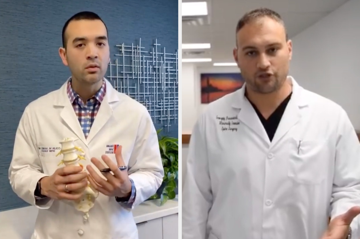 Dr. Haines and Dr. Brusovanik