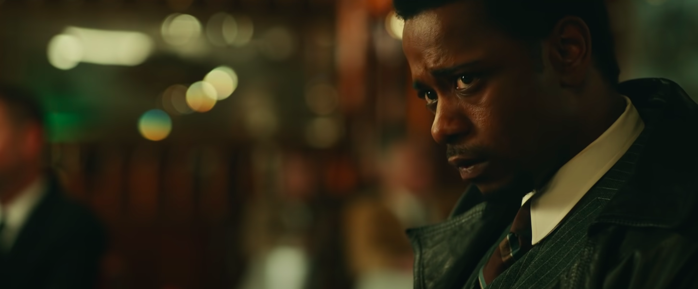 """LaKeith Stanfield looking worried in """"Judas and the Black Messiah"""""""