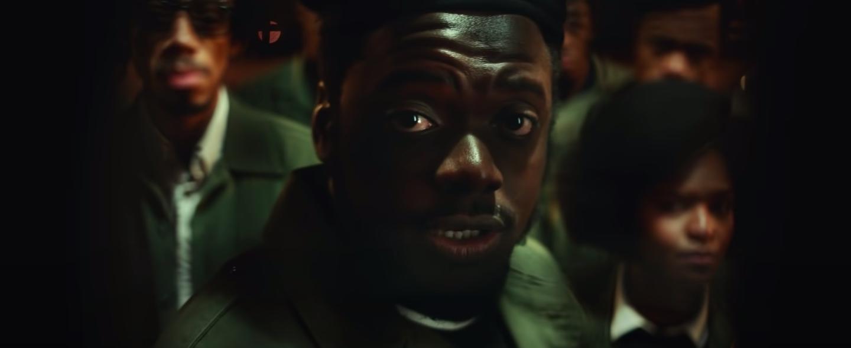 "Daniel Kaluuya talking in ""Judas and the Black Messiah"""